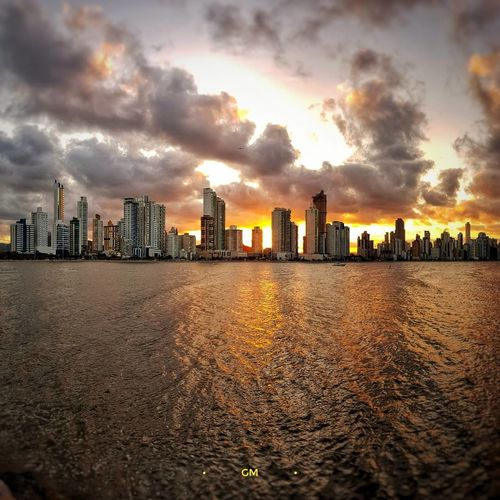 Architecture Skyscraper Building Exterior Cityscape Sunset Cloud - Sky Built Structure City Sky Urban Skyline Modern Outdoors Day No People