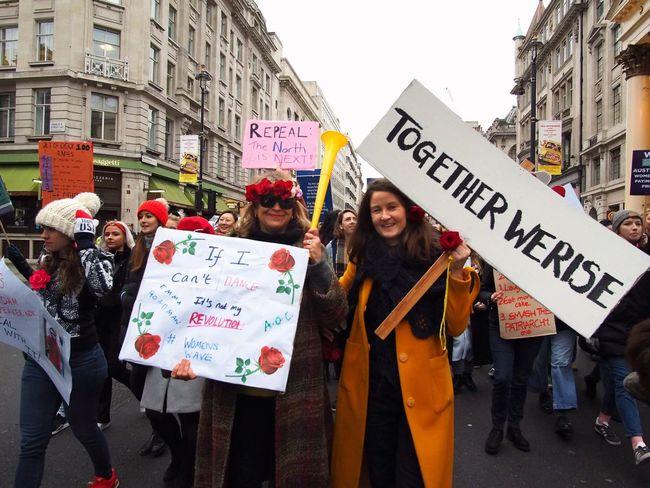 Womens March. London. 19/01/2019 LONDON❤ London News Equality Protesters Protest Womens March 2019 Womens March Womens March London Stevesevilempire Steve Merrick OM-D Olympus