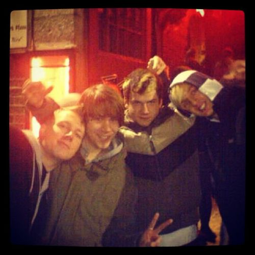 After Show Party in #Doublin in 2006 with roryclewlow #EnterShikari - i miss the time Entershikari Doublin