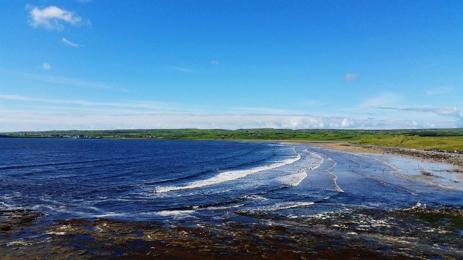 Bringbacksummer MissSummer Beach Beautiful Nature Relaxing Ocean View Ocean Atlantic Ocean Ireland🍀 Irelandinspires