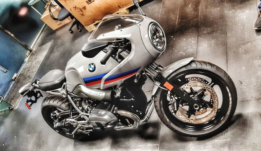 BMW MOTO Moto Bmw High Angle View Close-up