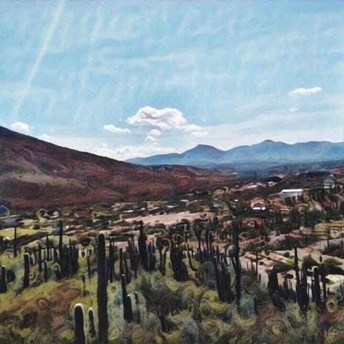 Mountain Tranquility Tranquil Scene Prismacolor Prisma Art San Juan Raya Puebla