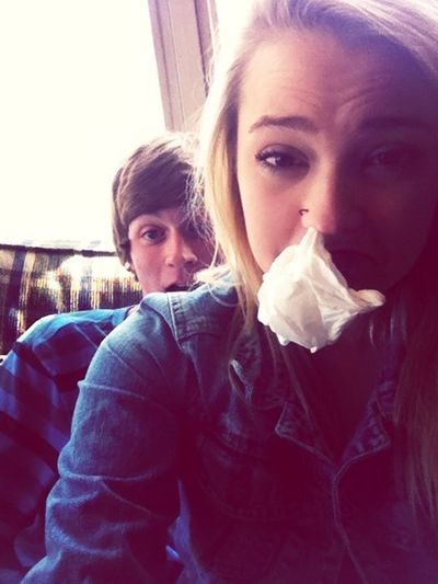 Models With The Nose Bleeds