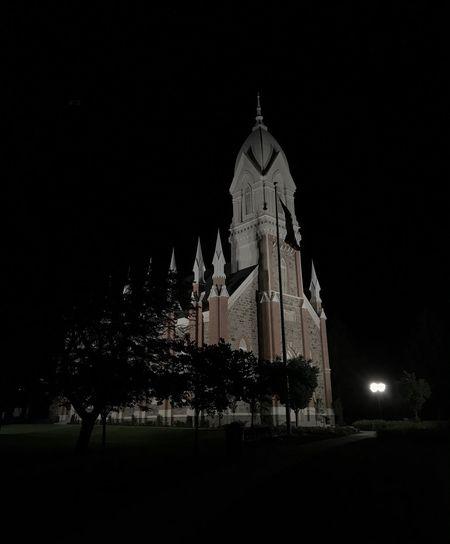 Religion Place Of Worship Spirituality Architecture Night Sky Illuminated Outdoors