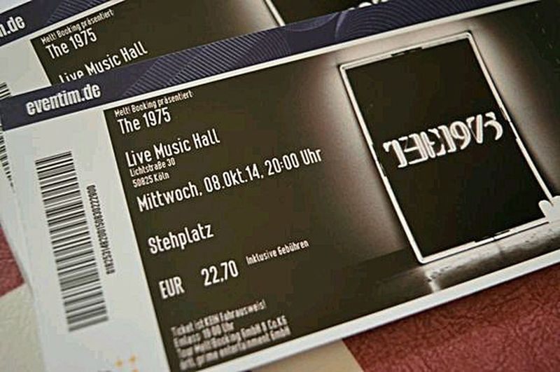 tickets for the 1975 concert Photography Blogger Theseandthisphotography AkPhotography Pboto Blogger Lifestyle Photography