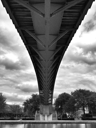Blackandwhite Under The Bridge Bw_collection On The Other Side