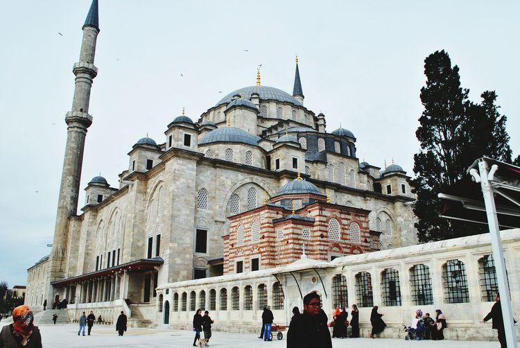 Am missing the place. Sultan Al-Fateh Mosque Urban Escape Turkey Istanbul Zidagraphy
