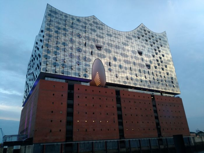 Elbphilharmonie Elbphilharmony Elbphilharmoie Elbphilharmonie Plaza Elbphilharmony Hamburg Plaza View Elbphilarmonie Elbphliharmonie Elbphilhamonie Architecture Business Finance And Industry Travel Destinations Modern Building Exterior Pyramid Skyscraper Sky City Outdoors Politics And Government No People Day Your Ticket To Europe