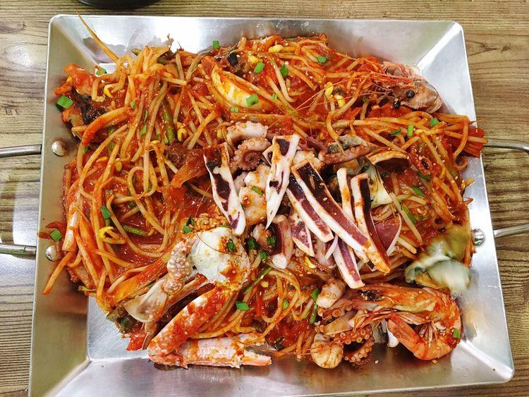 Korean Food Korea Seefood Haemulzzim