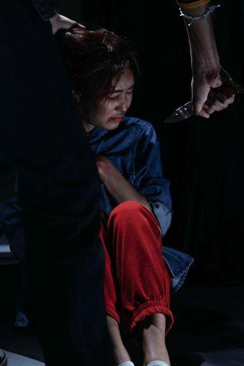 Man Harassing Woman