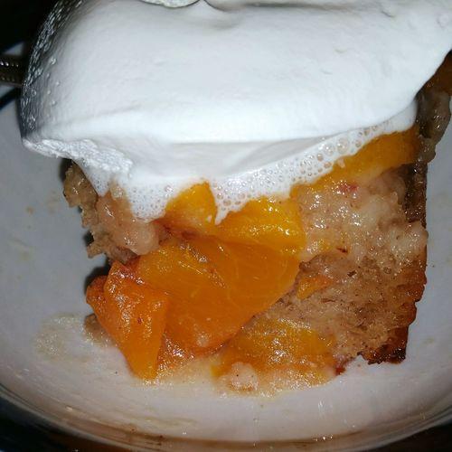 Homemade Peach Cobbler! Carolina Peaches Peaches Baking Desserts