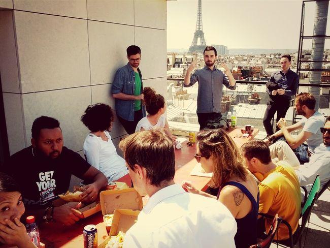 Lunch — Work OgilvyOne Pari Roof Top