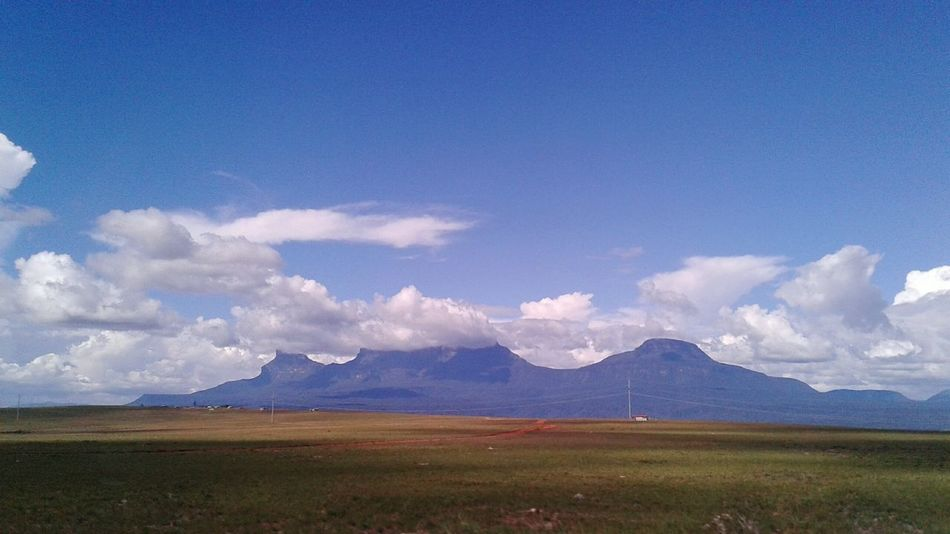Cloud - Sky Landscape Mountain Outdoors Gran Sabana Roraima Tepuy Venezuela Bolivar EyeEmNewHere