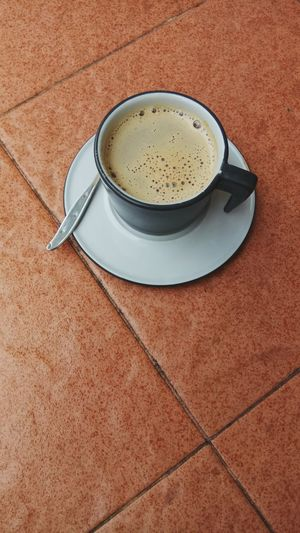 Creamy. Coffee Break Creme Caramel Food And Drink Coffee Day Moods & Feelings