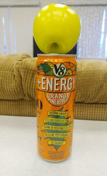 Apple Orange Pineapple V8 9-9 Energydrink Eyemphotos