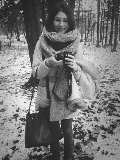 Hello, hello Winter Walking Around People Watching Photoshoot
