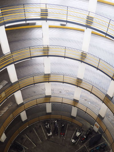 Architecture Built Structure Day Indoors  Lines & Curves Lines And Angles Lines And Shapes Lines, Shapes And Curves Modern No People Parking Parking Garage Pattern Pattern, Texture, Shape And Form Welcome To Black The Architect