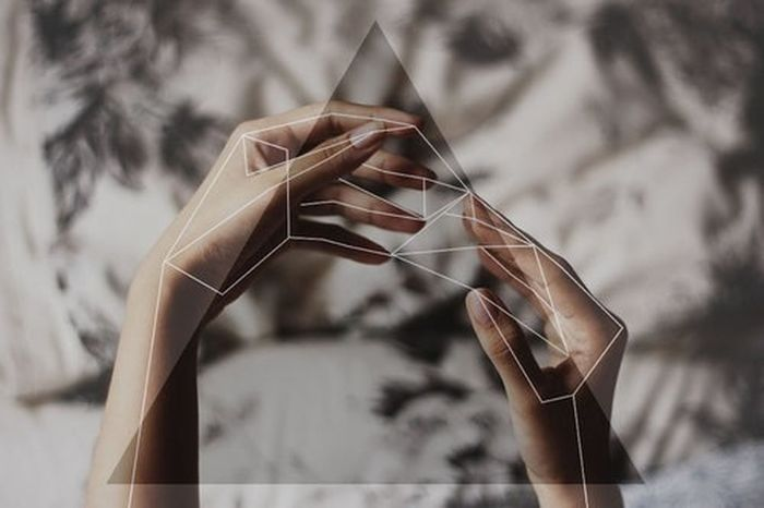 Geometry Photography Hand Art