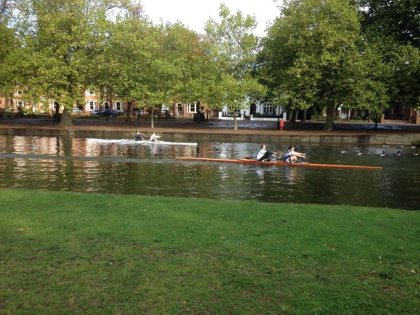 The River Ouse Walking Around Rowing Excercising Hanging Out