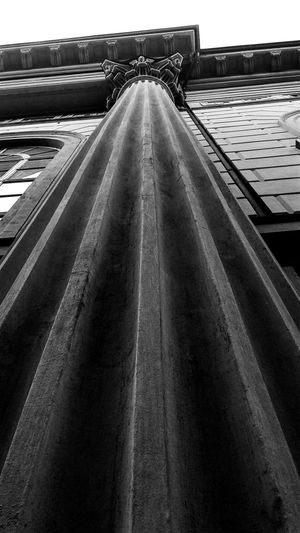Column Capitals Column Church Black And White Photography Black And White Church Architecture Architecture Structures And Architecture Looking Up My City Walking Around The City  Cloudy Day The Architect - 2017 EyeEm Awards Black And White Friday