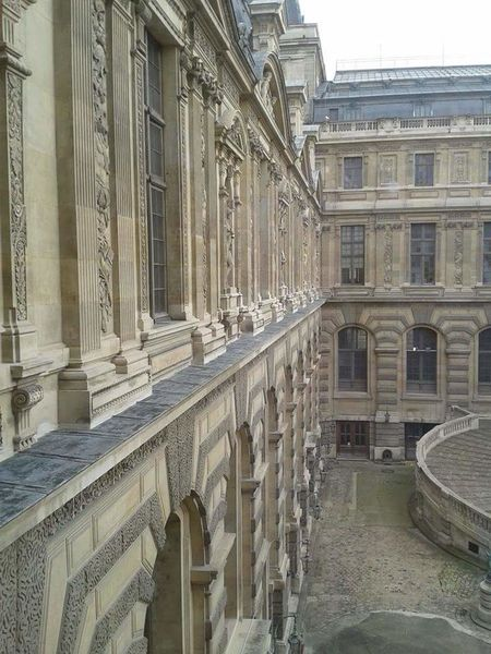 Paris Louvre Buildings