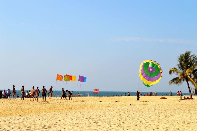 Seabeach Volleyball❤ Beachsports Manipal Malpe Beach Solotraveler Sunny Day