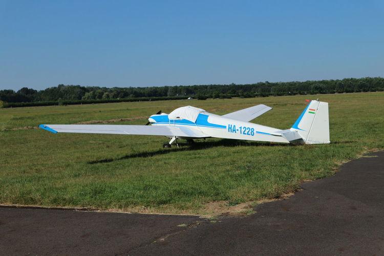 Airport Békéscsaba Hungary Canon M10 Plane