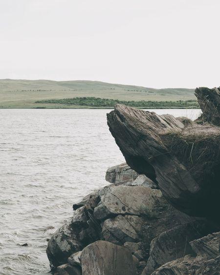 Rocks And Water Rocks Water Nature Outdoors Landscape Scenics Tranquil Scene Day No People Lake Lake Utinoe Khakassia