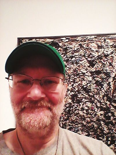 Hanging out with Jackson Pollock