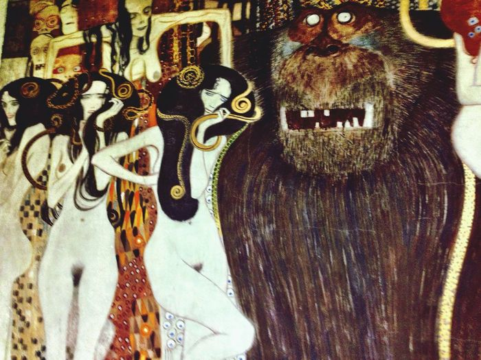 Klimt Beethoven Frieze Secession Vienna