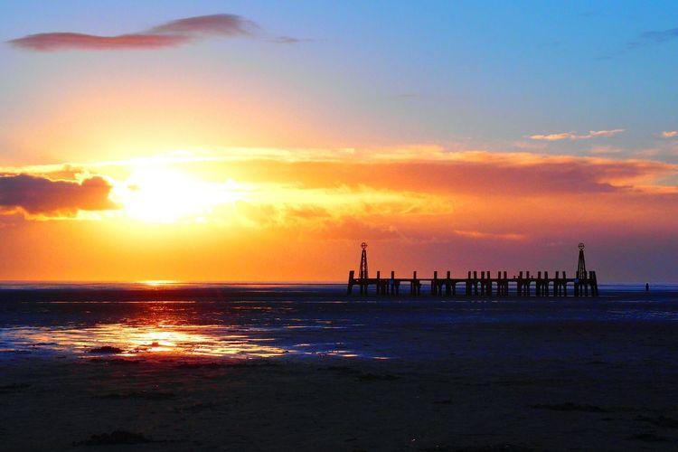 Evening sunset Stannes Lythamstannes Sunset My Photos