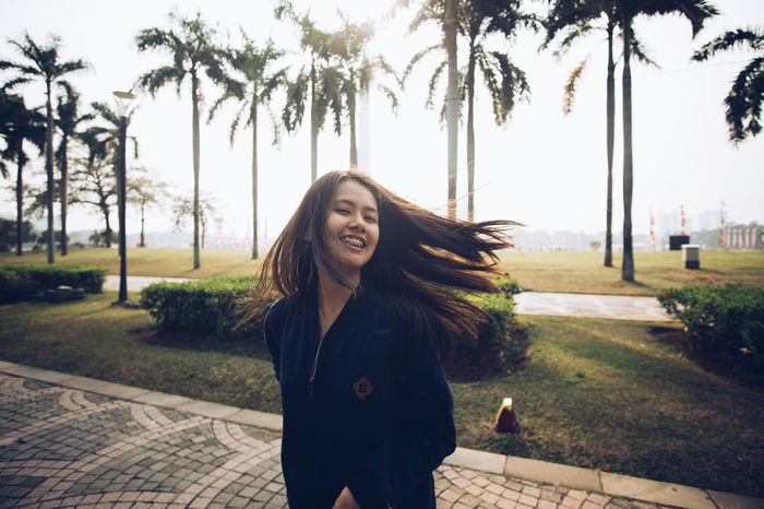 Mood Happiness Smiling One Person Young Women Girl Hair Mood The Week On EyeEm