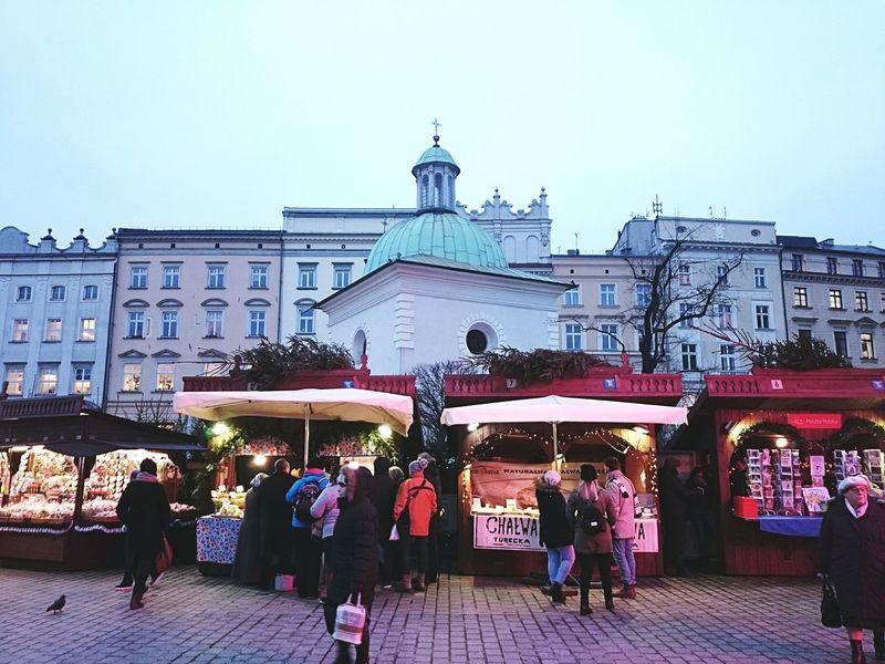 Christmas Around The World Christmas Market Christmas Market Krakow Streetphotography Wintertime Kraków, Poland