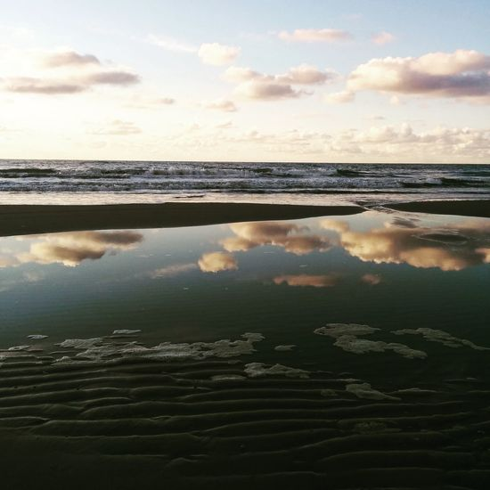 Texelstrand Texelpics Reflection Beach Hello World Enjoying Life First Eyeem Photo