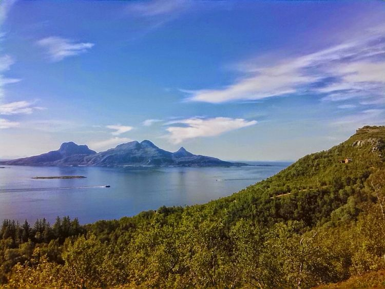 Sea Island Summer Articcircle Norway