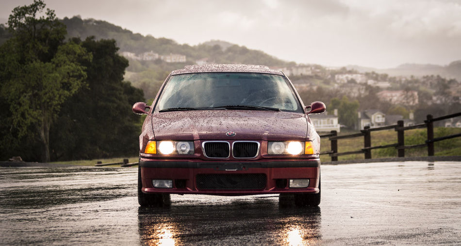 Rain Rainy Days Bmw E36 German Bokehdynamics Euro UltimateDrivingMachine