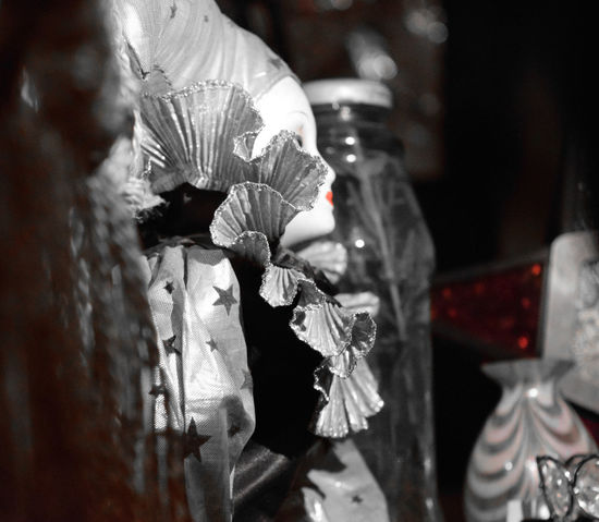 Art And Craft Close-up Clown Depth Of Field Doll Fragility Melancolia Selective Focus White
