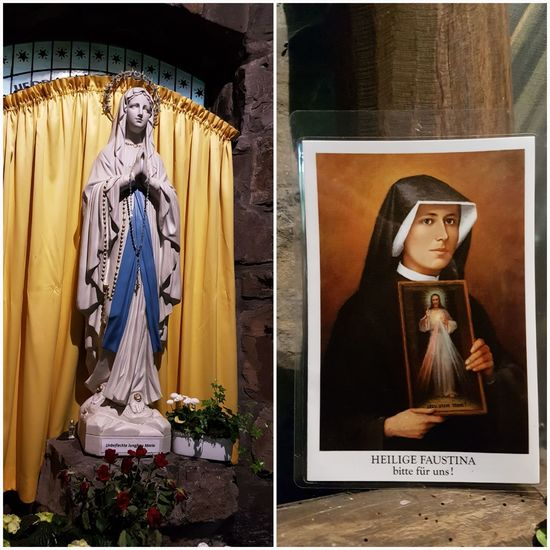 virgin mary statue Image And Photography Inside Lourdescave Germany EyeEm Selects Statue Religion Spirituality Human Representation Female Likeness