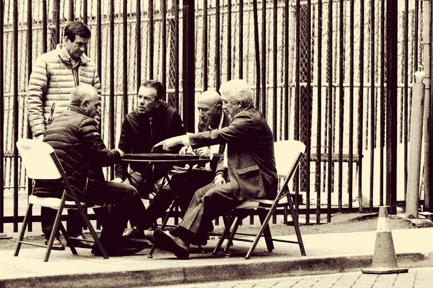 The Photojournalist - 2016 EyeEm Awards Downtown Downtown Los Angeles Jewlery District Old Men Backgammon Armenian Lumix