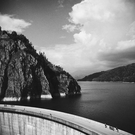 Beautiful Landscape Summer Black And White Monochrome Photography
