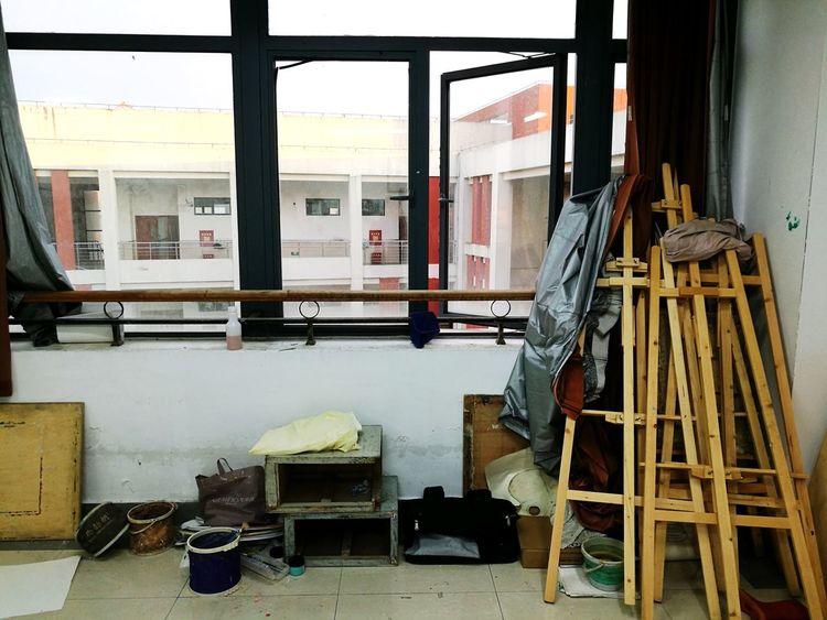 Window Destruction Indoors  No People