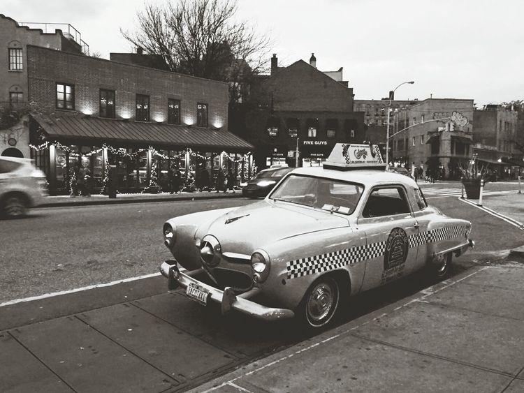 NYC Oldschool Cab NYC CAB Meinautomoment