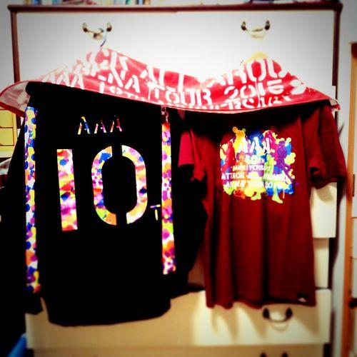 AAA 10th Anniversary ツアーグッズ