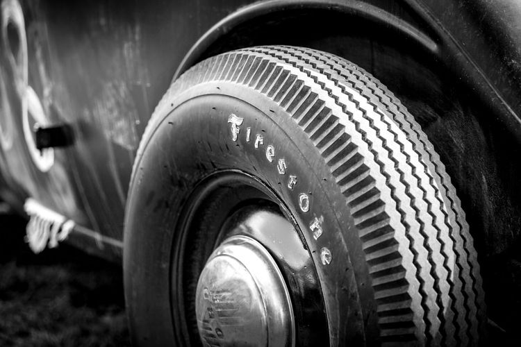 Photo taken at A-Bombers Old Style Weekend in Backamo, Sweden. 1932 Abombers Black & White Black And White Black And White Photography Black&white Blackandwhite Blackandwhite Photography Blackandwhitephotography Blackwhite C Canon Canon5dmarkiii Canon5Dmk3 Car Close-up Firestone Ford Full Frame No People Rat Rod Rat Rods Rod Tire Vintage
