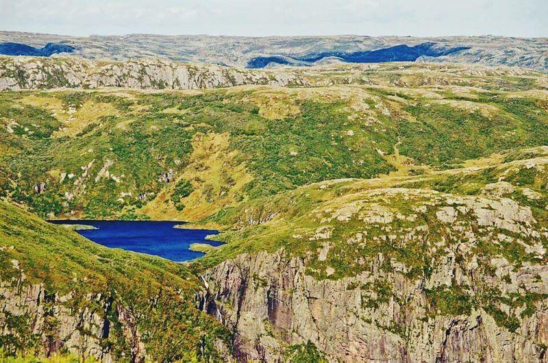 Edge Of The World Gros Morne Canada Newfoundland Mountain Lake