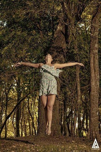 The Great Outdoors - 2017 EyeEm Awards Young Women People Bosque Chaco Argentina Flying EyeEmNewHere