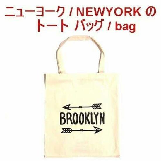 セレクトショップレトワールボーテ エコバッグ Bag バッグ トートバッグ エコトート ラブ ブルックリン アロー ショッピング ショッピングバッグ