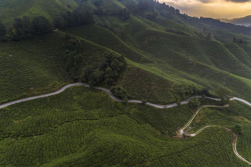 Scenic aerial