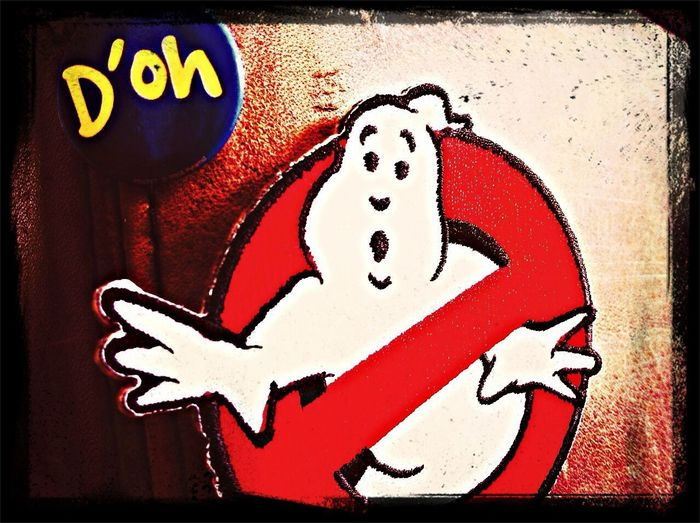 Ghostbusters Patch Doh