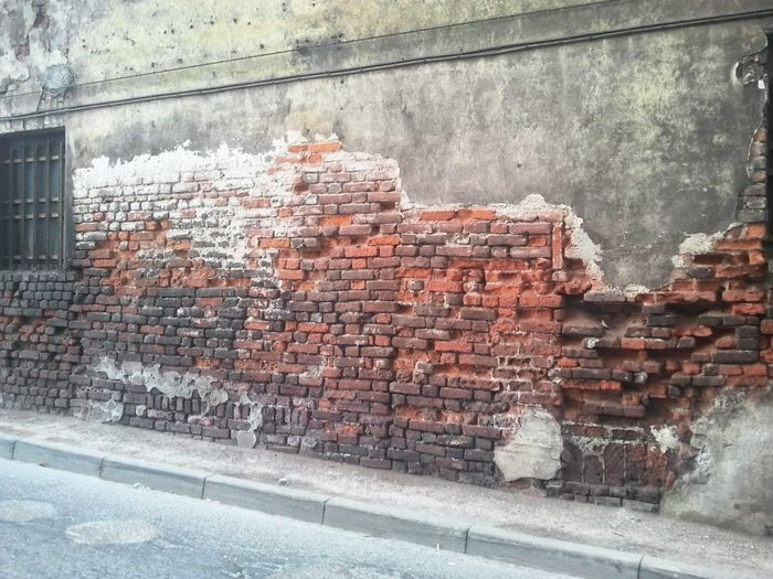 """Parafrasando """"quod non fecerunt barbari fecerunt barberini"""" Ancient Architecture Architecture Brick Brick Wall Built Structure Day No People Old Wall Wall - Building Feature The Week On Eyem The Graphic City"""